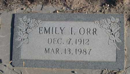 ORR, EMILY L. - Garden County, Nebraska | EMILY L. ORR - Nebraska Gravestone Photos
