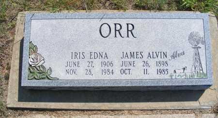 ORR, IRIS EDNA - Garden County, Nebraska | IRIS EDNA ORR - Nebraska Gravestone Photos
