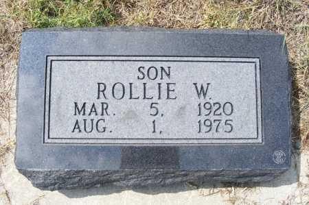 ORR, ROLLIE W. - Garden County, Nebraska | ROLLIE W. ORR - Nebraska Gravestone Photos