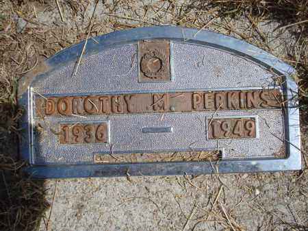 PERKINS, DOROTHY M. - Garden County, Nebraska   DOROTHY M. PERKINS - Nebraska Gravestone Photos