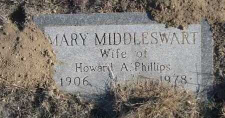MIDDLESWART PHILLIPS, MARY - Garden County, Nebraska | MARY MIDDLESWART PHILLIPS - Nebraska Gravestone Photos