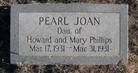 PHILLIPS, PEARL JOAN - Garden County, Nebraska | PEARL JOAN PHILLIPS - Nebraska Gravestone Photos