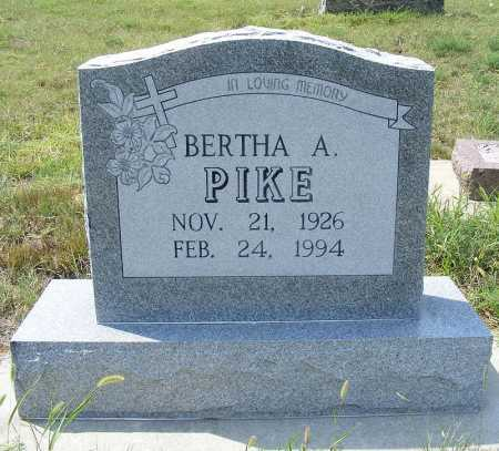 PIKE, BERTHA A. - Garden County, Nebraska | BERTHA A. PIKE - Nebraska Gravestone Photos