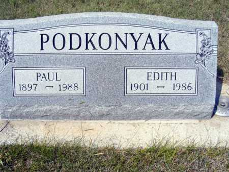 PODKONYAK, PAUL - Garden County, Nebraska | PAUL PODKONYAK - Nebraska Gravestone Photos