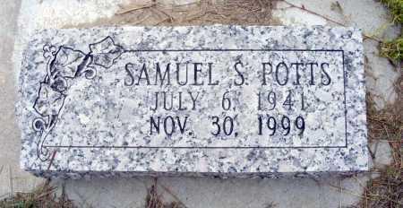 POTTS, SAMUEL S. - Garden County, Nebraska | SAMUEL S. POTTS - Nebraska Gravestone Photos