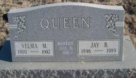 QUEEN, JAY B. - Garden County, Nebraska   JAY B. QUEEN - Nebraska Gravestone Photos