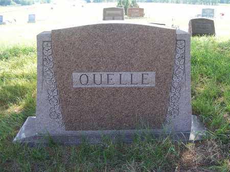 QUELLE, FAMILY - Garden County, Nebraska   FAMILY QUELLE - Nebraska Gravestone Photos
