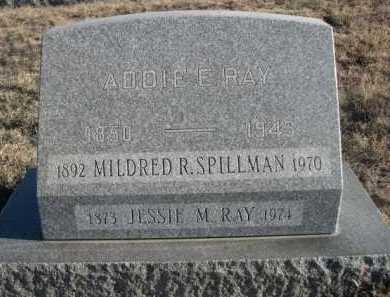 SPILLMAN, MILDRED R. - Garden County, Nebraska   MILDRED R. SPILLMAN - Nebraska Gravestone Photos