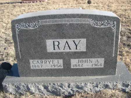 RAY, JOHN A. - Garden County, Nebraska | JOHN A. RAY - Nebraska Gravestone Photos