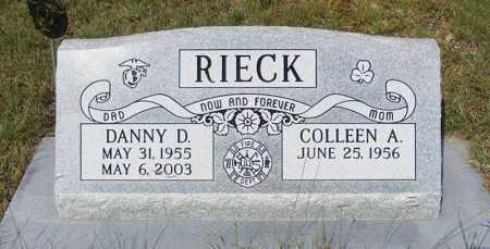 RIECK, COLLEEN A. - Garden County, Nebraska   COLLEEN A. RIECK - Nebraska Gravestone Photos