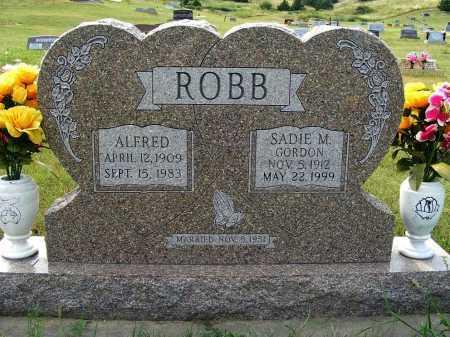 ROBB, ALFRED - Garden County, Nebraska | ALFRED ROBB - Nebraska Gravestone Photos