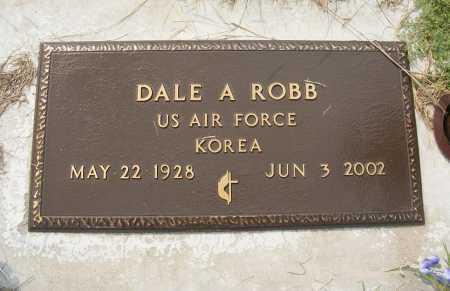 ROBB, DALE A. - Garden County, Nebraska   DALE A. ROBB - Nebraska Gravestone Photos
