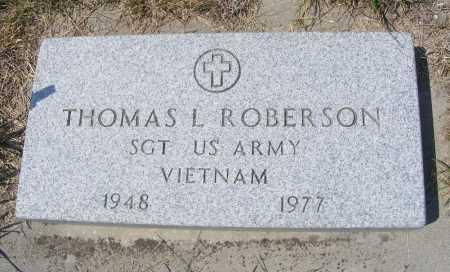 ROBERSON, THOMAS L. - Garden County, Nebraska   THOMAS L. ROBERSON - Nebraska Gravestone Photos
