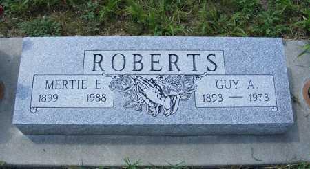 ROBERTS, GUY A. - Garden County, Nebraska | GUY A. ROBERTS - Nebraska Gravestone Photos