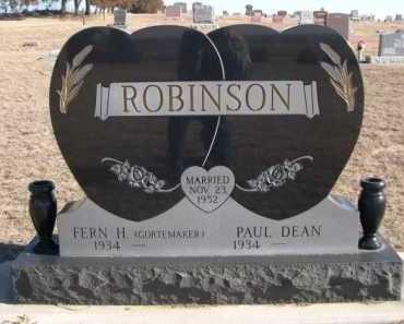 ROBINSON, FERN H. - Garden County, Nebraska | FERN H. ROBINSON - Nebraska Gravestone Photos