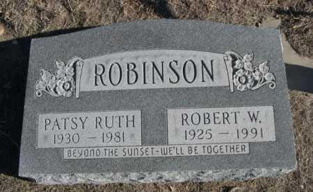 ROBINSON, PATSY RUTH - Garden County, Nebraska | PATSY RUTH ROBINSON - Nebraska Gravestone Photos