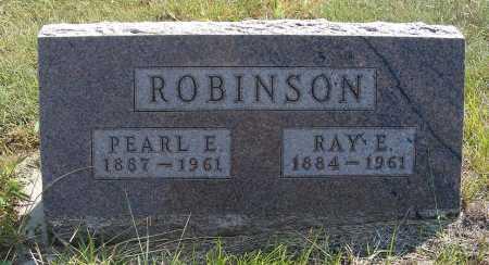 ROBINSON, PEARL E. - Garden County, Nebraska | PEARL E. ROBINSON - Nebraska Gravestone Photos