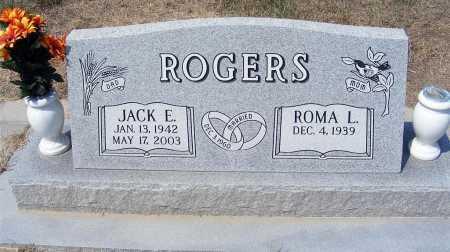 ROGERS, JACK E. - Garden County, Nebraska   JACK E. ROGERS - Nebraska Gravestone Photos
