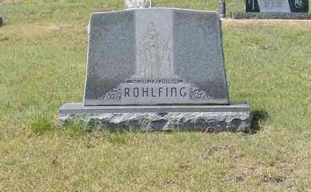 ROHLFING, FAMILY - Garden County, Nebraska   FAMILY ROHLFING - Nebraska Gravestone Photos