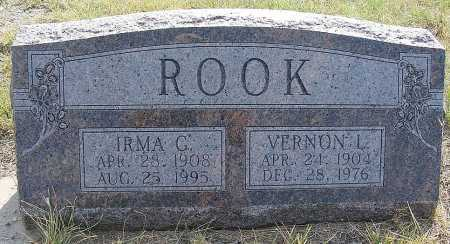 ROOK, VERNON L. - Garden County, Nebraska   VERNON L. ROOK - Nebraska Gravestone Photos