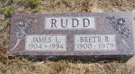 RUDD, JAMES L. - Garden County, Nebraska | JAMES L. RUDD - Nebraska Gravestone Photos