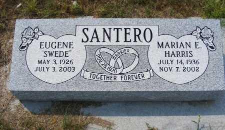 SANTERO, MARIAN E. - Garden County, Nebraska   MARIAN E. SANTERO - Nebraska Gravestone Photos