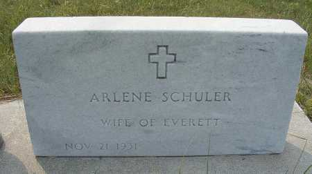 SCHULER, ARLENE - Garden County, Nebraska | ARLENE SCHULER - Nebraska Gravestone Photos