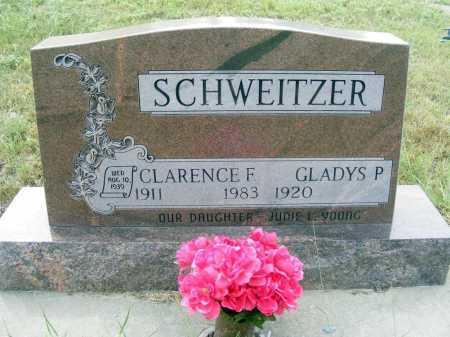 SCHWEITZER, CLARENCE F. - Garden County, Nebraska | CLARENCE F. SCHWEITZER - Nebraska Gravestone Photos