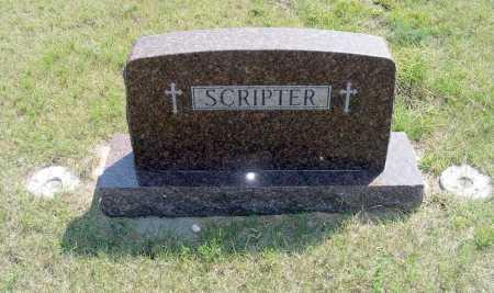 SCRIPTER, FAMILY - Garden County, Nebraska | FAMILY SCRIPTER - Nebraska Gravestone Photos