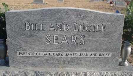 SEARS, BILL - Garden County, Nebraska   BILL SEARS - Nebraska Gravestone Photos