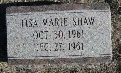 SHAW, LISA MARIE - Garden County, Nebraska | LISA MARIE SHAW - Nebraska Gravestone Photos