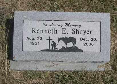 SHRYER, KENNETH - Garden County, Nebraska | KENNETH SHRYER - Nebraska Gravestone Photos