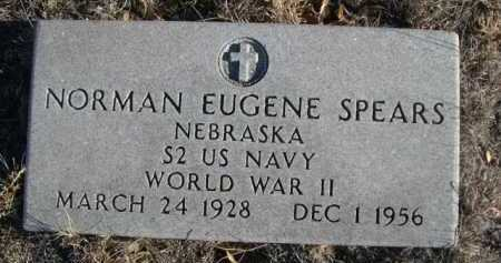 SPEARS, NORMAN EUGENE - Garden County, Nebraska | NORMAN EUGENE SPEARS - Nebraska Gravestone Photos
