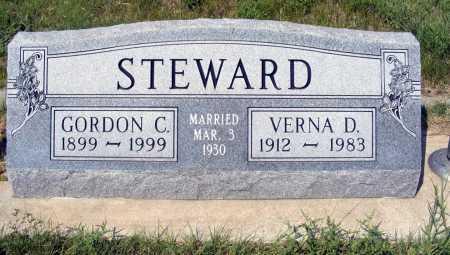 STEWARD, VERNA D. - Garden County, Nebraska | VERNA D. STEWARD - Nebraska Gravestone Photos