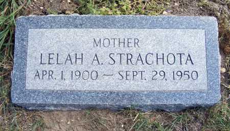 STRACHOTA, LELAH A. - Garden County, Nebraska | LELAH A. STRACHOTA - Nebraska Gravestone Photos