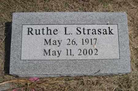STRASAK, RUTHE L. - Garden County, Nebraska   RUTHE L. STRASAK - Nebraska Gravestone Photos