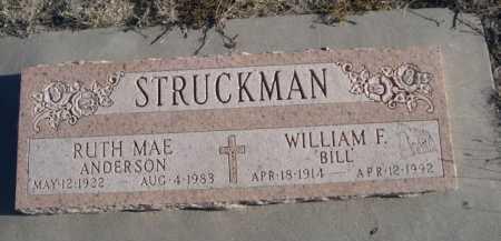 STRUCKMAN, RUTH MAE - Garden County, Nebraska | RUTH MAE STRUCKMAN - Nebraska Gravestone Photos