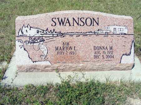 SWANSON, MARION L. - Garden County, Nebraska | MARION L. SWANSON - Nebraska Gravestone Photos