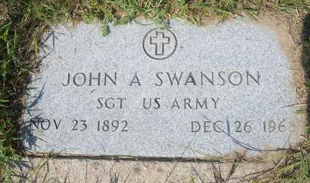 SWANSON, JOHN A. - Garden County, Nebraska | JOHN A. SWANSON - Nebraska Gravestone Photos