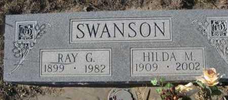 SWANSON, RAY G. - Garden County, Nebraska   RAY G. SWANSON - Nebraska Gravestone Photos