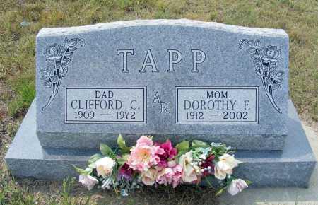 TAPP, CLIFFORD C. - Garden County, Nebraska | CLIFFORD C. TAPP - Nebraska Gravestone Photos