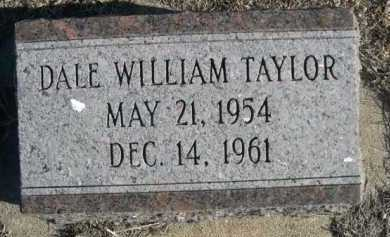TAYLOR, DALE WILLIAM - Garden County, Nebraska | DALE WILLIAM TAYLOR - Nebraska Gravestone Photos