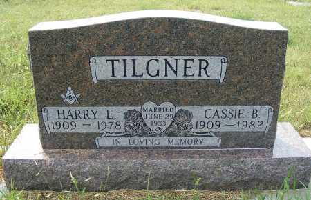 TILGNER, HARRY E. - Garden County, Nebraska | HARRY E. TILGNER - Nebraska Gravestone Photos