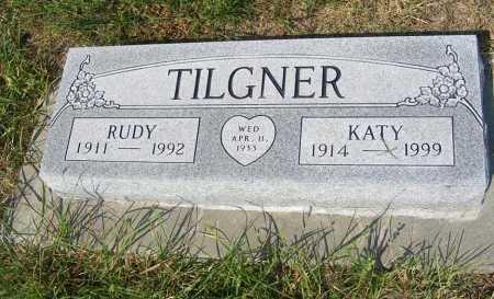 TILGNER, RUDY - Garden County, Nebraska | RUDY TILGNER - Nebraska Gravestone Photos