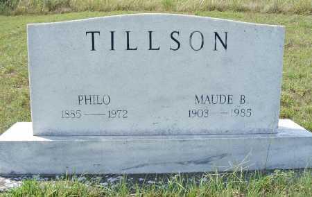 TILLSON, MAUDE B. - Garden County, Nebraska | MAUDE B. TILLSON - Nebraska Gravestone Photos