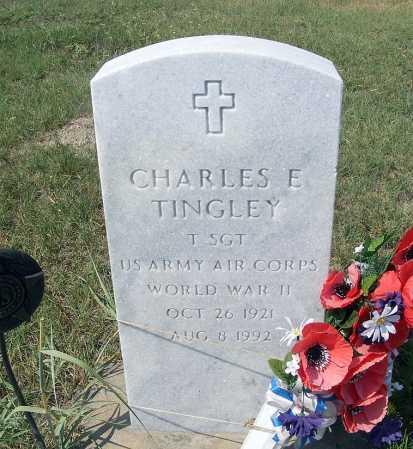 TINGLEY, CHARLES E. - Garden County, Nebraska   CHARLES E. TINGLEY - Nebraska Gravestone Photos