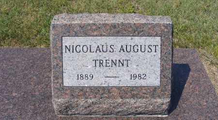 TRENNT, NICOLAUS AUGUST - Garden County, Nebraska   NICOLAUS AUGUST TRENNT - Nebraska Gravestone Photos