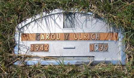 ULRICH, CAROL Y. - Garden County, Nebraska | CAROL Y. ULRICH - Nebraska Gravestone Photos