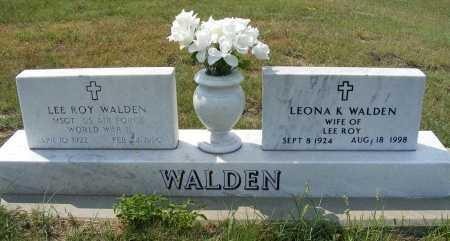 WALDEN, LEE ROY - Garden County, Nebraska | LEE ROY WALDEN - Nebraska Gravestone Photos
