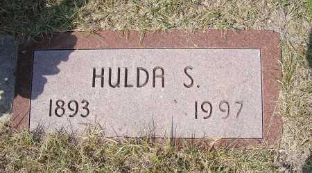 WALDO, HULDA S. - Garden County, Nebraska   HULDA S. WALDO - Nebraska Gravestone Photos